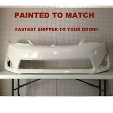Fits; 2012 2013 2014 Toyota Camry Front Bumper Painted to Match (TO1000378)