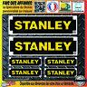 lot 6 Sticker autocollant stanley outil bricolage adhésif planche sponsor tuning