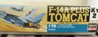 Hasegawa 04202 Flugzeug F 14 a Plus Tomcat US NAVY 1:72 Bausatz mit Ätzteilen