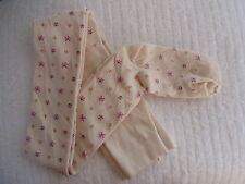BNWT LANDS END WINTER TIGHTS - Aussie Made Size 2-3 TAN / CREAM FREE POST