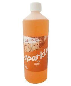 Spa Clarifier Clarifier for Hot Tub Spas and Whirlpools Sparkle 1L Bottle