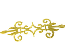 1 x Lurex Gold Applikationen Patch Medieval?Renaissance? ArtNr:16-1G