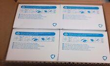 (4X) GENUINE GESTETNER RICOH CS210 CYAN TONER 887911 CS-210 CS210e CS-213d