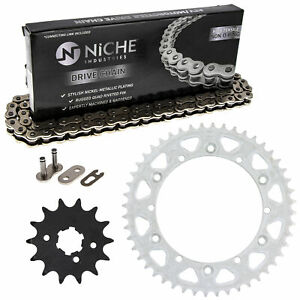Sprocket Chain Set for Yamaha WR250 YZ490 14/48 Tooth 520 Front Rear Kit Combo