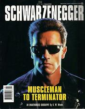 ARNOLD SCHWARZENEGGER  Unauthorized Biography  large paperback book