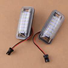 Fit Subaru BRZ Legacy Impreza Crosstrek 2Pcs 18LEDs White License Plate Light