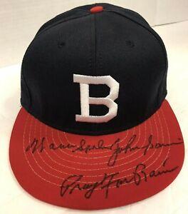 """SPAHN, SAIN """"PRAY FOR RAIN"""" BOSTON BRAVES NEW FITTED BASEBALL HAT SIZE 7 1/4"""