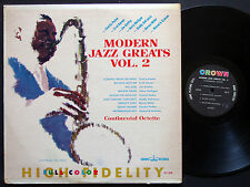 CHARLIE PARKER GERRY MULLIGAN Modern Jazz Greats Vol.2 LP CROWN 5220 US '61 MONO