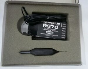 JR RS70 7 CHANNEL PLL SYNTHESISED RECEIVER 35MHZ NEW IN THE BOX