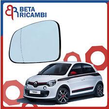 Renault Twingo 09//2007-12//2011 Piastra specchietto termica con vetro asferico sx
