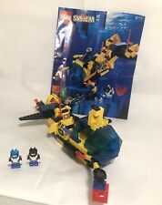 Lego 6175 Aquazone Aquanauts CRYSTAL EXPLORER SUB- PARTIALLY Complete w/Manual