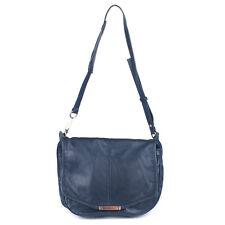 100% Authentic Alexander Wang Iris Navy Leather Messenger Shoulder Bag