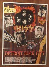 manifesto 2F,K, Detroit Rock City KIϟϟ - KISS MUSIC Heavy Hair metal 1999 Rifkin