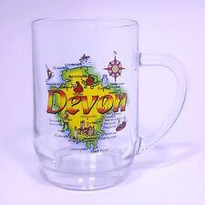 Big Giant Mug Devon MAP pint glass Tea Coffee Mug Jumbo  500ml  souvenir gift