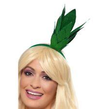 Pineapple Stalk Glitter Headband Green Headpiece Fancy Dress Accessory