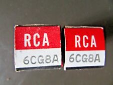 6CG8 RCA VACUUM TUBE, NEW IN BOX / NEW OLD STOCK, PRICE IS FOR  1 TUBE ONLY.