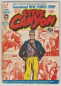 M0698: Steve Canton Comics, #1, Vol 1, F/f+ Condition