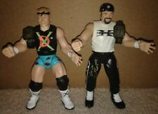 WWE  New Age Outlaws -DX Road Dog and Billy Gunn - Jakks Pacific Action Figures