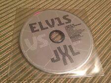 ELVIS PRESLEY VS JXL SPANISH CD SINGLE SPAIN 1 TRACK LITTLE LESS CONVERSATION