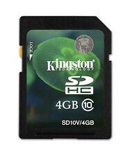 Kingston 4GB SDHC Speicherkarte