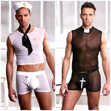 Men's Sexy Halloween Fancy Dress Outfit Super Sexy Hot Designs Size M & L/XL