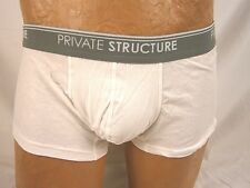 Private Structure Basic Cotton Trunk Large White #1367IM AL914