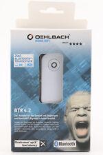 @6078 Oehlbach 2in1 Bluetooth 4.2 Sender/Empfänger BTR 4.2 Receiver Adapter aptX