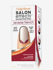 Sally Hansen salon effects nail polish strips Reverse French RED MY TULIPS 003