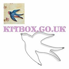 Bird Cutter - Swallow Shape for Cupcakes, Cake Decoration, Sugarcraft & Craft