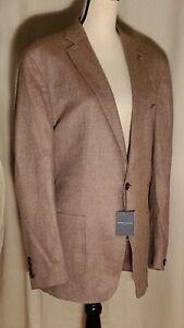 Peter Millar The Winter Excursionist Herringbone Wool/Cashmere Blazer 44R $1000