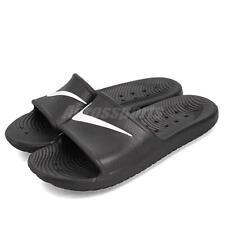 05f9726fcb8fa1 Nike Men s Kawa Shower Black white Sandal 8 Men US