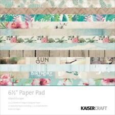 "KAISERCRAFT Scrapbooking Paper Pads - Island Escape 6.5 x 6.5"" - Nini's Things"