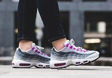 Women's Nike Air Max 95 Grey Pink UK Size 6 EUR 40 Grey Violet White 307960 001