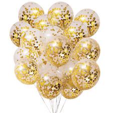 "12"" Confetti Latex balloons wedding birthday party decoration 40 Per Bag"