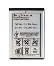 Sony Ericsson BST-36 Battery 780mAh For J300,Z550,T250,K510i,k510,k320