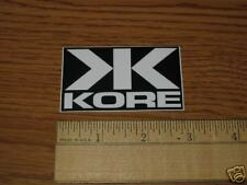 KORE Bike Bicycle Cycling Mountain Road  STICKER DECAL