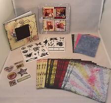 "Creative Memories Rock Star Paper Album Kit New 6 1/2"" x 6 1/2"" 2009"