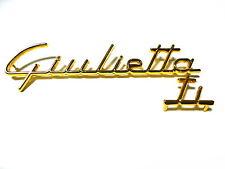 Fregio scritta sigla ALFA ROMEO GIULIETTA TI badge sign emblem escudo