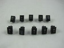 2Pin Snap-in On/Off Rocker Switch 2 Pin 12V 110V 250V BID FOR 10 PCS