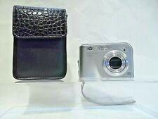 HP PhotoSmart M425 5.0MP Digital Camera - Silver - With Black case