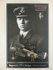 "Maquette 1/32 Wingnut Wings Sopwith 7F.1 Snipe ""William Barker"""