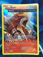 Entei - Ancient Origins Trait Holo Rare Full Art 15/98 XY Pokemon Card - LP / NM