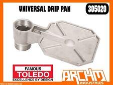 "TOLEDO 305020 - UNIVERSAL DRIP PAN - ALUMINIUM MEDIA 2"" BUNG ADAPTOR DRUM PUMP"