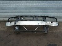 MERCEDES CLK W209 2004 - COMPLETE FRONT SLAM PANEL BUMPER CRASH REINFORCE BAR