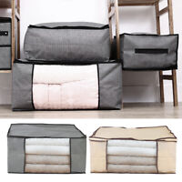 Large Dustproof Clothes Storage Bag Clothing Pillow Blanket Quilt Organizer Bag
