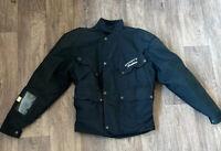 Scott Leathers textile motorcycle biker jacket Permatex Waterproof size S