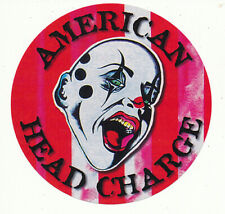 American Head Charge The Feeding RARE promo sticker 2005