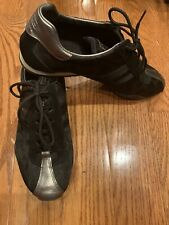 COACH Women's black/silver, Monogram, Tennis shoe size 8.5