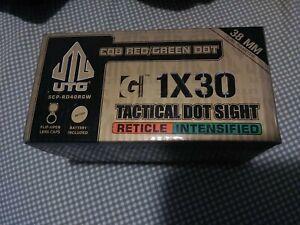 CQB Red/green Dot UTG 1x30 38mm tube diameter