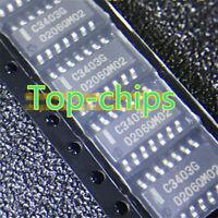 5PCS C3403G UPC3403G UPC3403G2 HIGH PERFORMANCE QUAD OPERATIONAL AMPLIFIER SOP14